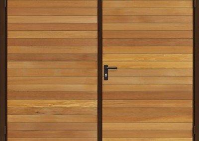 Garador Timber Side Hinged Garage Doors